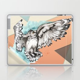 Owl McFly by carographic Laptop & iPad Skin