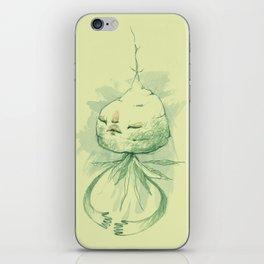 vegetation meditation iPhone Skin