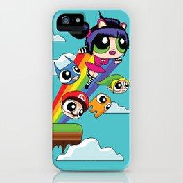 The Power Nyan Girl iPhone Case