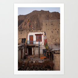 A house with views Art Print