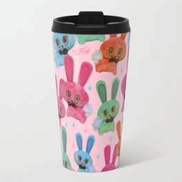 Cute Fluffy Bunnies Travel Mug