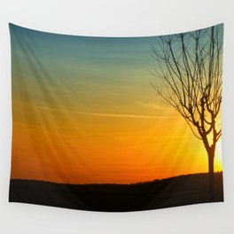 glorious sunset Wall Tapestry