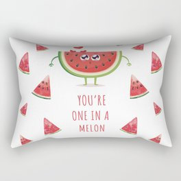 You're one in a melon Rectangular Pillow