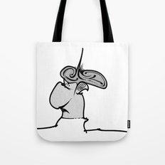 Puffy Dude Tote Bag