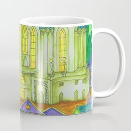 The Country Under The Leaves Coffee Mug