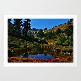 The Valley of Heaven Art Print