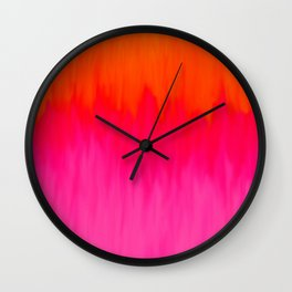 Bursting with Color Wall Clock