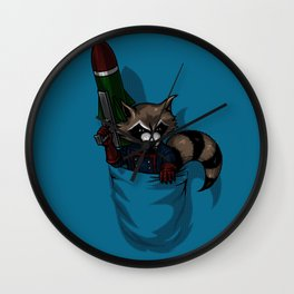 POCKET ROCKET Wall Clock