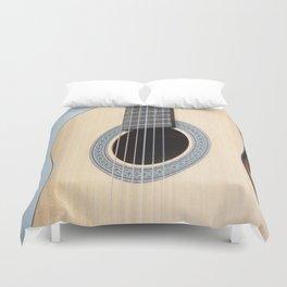 Classical Guitar Duvet Cover