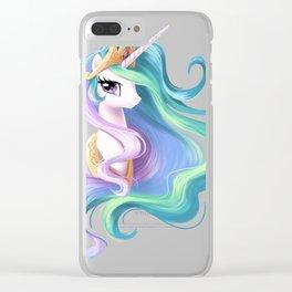 Beautiful unicorn drawing Clear iPhone Case