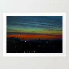 Amazing View  Art Print