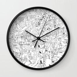 Fragments of memory Wall Clock