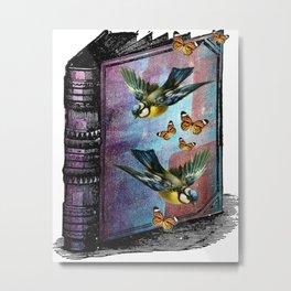 A BIRDWATCHERS GUIDEBOOK Metal Print