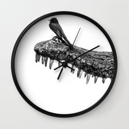 False Protection! Wall Clock