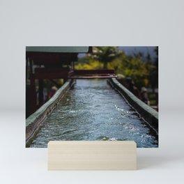 Shining Water Mini Art Print