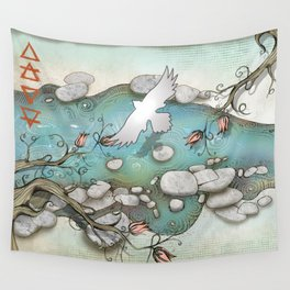 Pemigawasset, The Four Elements Wall Tapestry