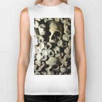 skulls Biker Tanks featuring skulls by SINPE