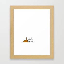 Bunny. Framed Art Print