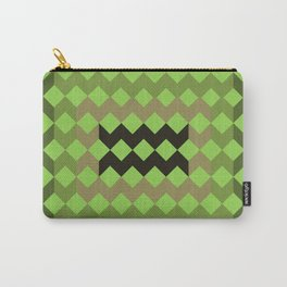 Green Quilt Carry-All Pouch