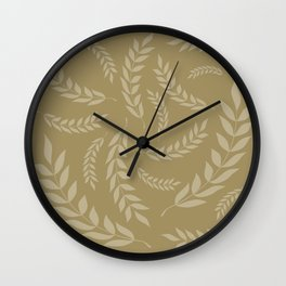 leafs Wall Clock