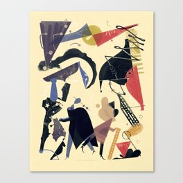 """""""How the Computer Got Its Revenge on the Soviet Union"""" by Roman Muradov for Nautilus Canvas Print"""