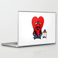 zappa Laptop & iPad Skins featuring Lonely Heart by holaf