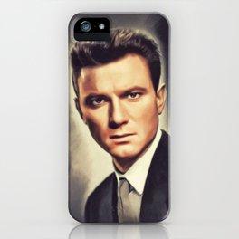 Laurence Harvey, Vintage Actor iPhone Case