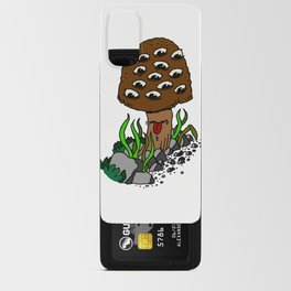 mushroom eyes Android Card Case