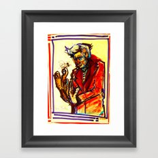 What's Wrong wit me Framed Art Print