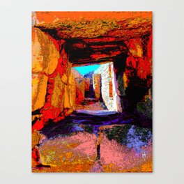 Window to the Ancestors Canvas Print