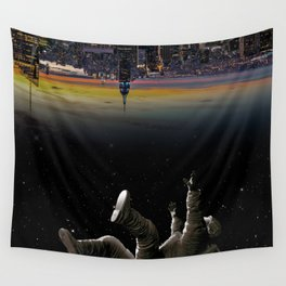 See you earth Wall Tapestry