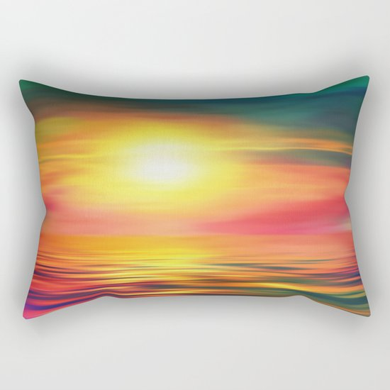 Back to the Summer Rectangular Pillow