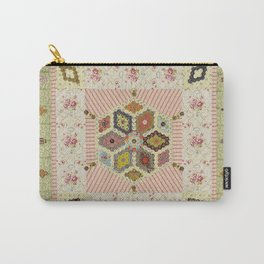 Baby Hexagon Quilt Carry-All Pouch