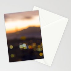 Sparkles at Sunset Stationery Cards