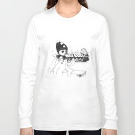 Pierrot the clown Long Sleeve T-shirt
