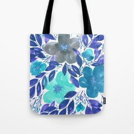 hand painted flowers_3 Tote Bag