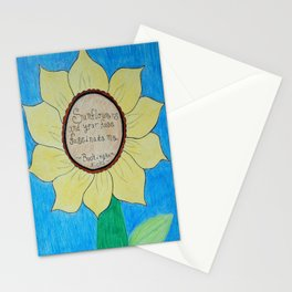 The gardens of Buckingham and Nicks Stationery Cards