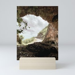 Tropical Cave Mini Art Print