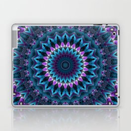 Luscious Purple and Blue Kaleidoscope Laptop & iPad Skin