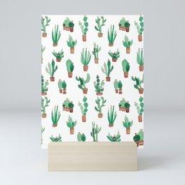 little cactus Mini Art Print