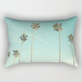 Palm Trees 2 Rectangular Pillow