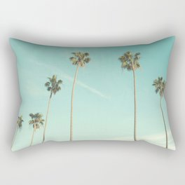 Palm Trees 2 Rectangular Pillow