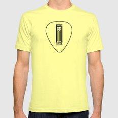 PJ 2014 GR // pick Lemon MEDIUM Mens Fitted Tee