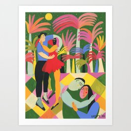 Affection Art Print