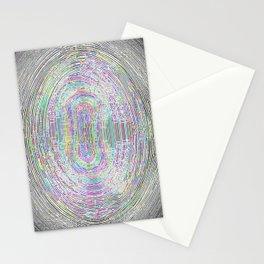 Borders without borders Stationery Cards