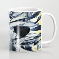 serenity Mugs featuring Serenity by Geni