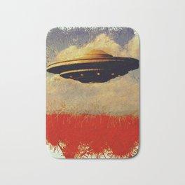 The Flying Saucer Bath Mat