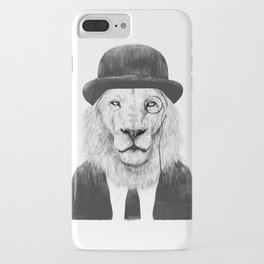 Sir lion iPhone Case