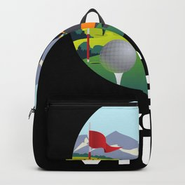 Golf Humor I Love The View Backpack