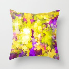 Sparking Joy On The Sunny Side Of The Street Throw Pillow